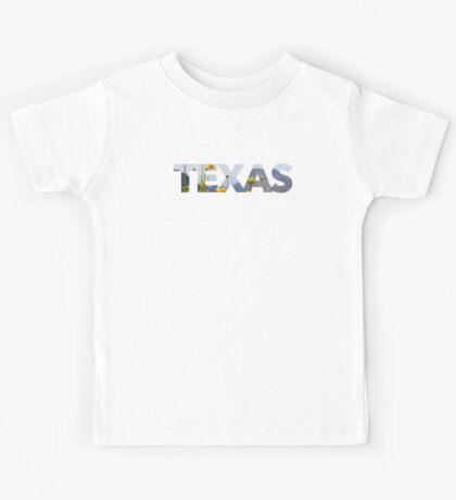 """Texas"" Flowers Kids Tee"