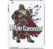 I Main Ganondorf - Super Smash Bros. iPad Case/Skin