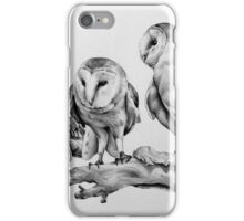 Barn Owls iPhone Case/Skin