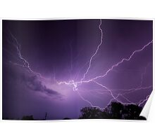 Fantastic Lightning Display Poster
