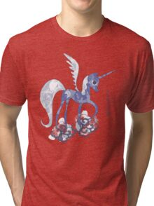 Luna: The Tale of the Moon Horse Tri-blend T-Shirt