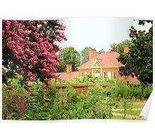 Mount Vernon Garden Poster