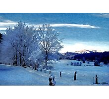 Winter Afternoon, Austria Photographic Print