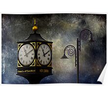 Clocktower at Lyme Poster