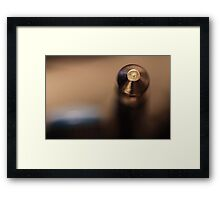 Almost Amplified... Framed Print