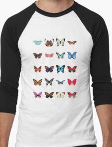 Butterflies Men's Baseball ¾ T-Shirt