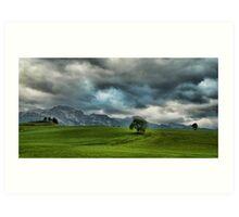 Summer Thunderstorm, Austria Art Print