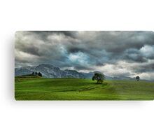 Summer Thunderstorm, Austria Metal Print