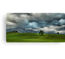 Summer Thunderstorm, Austria Canvas Print