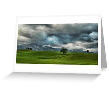 Summer Thunderstorm, Austria Greeting Card