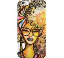 Beauty & Brains iPhone Case/Skin