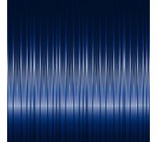 Dark Blue Carbon Fiber Pattern Photographic Print