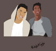 Rizzle Kicks Vector by Billy Downes