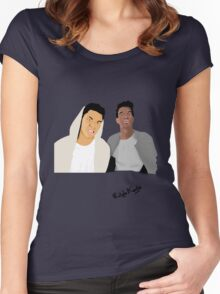 Rizzle Kicks Vector Women's Fitted Scoop T-Shirt