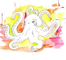 Octopus by PoppiPan