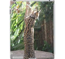 Serval Reaching iPad Case/Skin