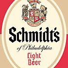 Schmidt's Beer by Blackwing