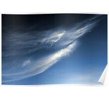 Simply Wispy Angel Poster