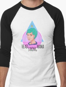 Head Strong Mama Men's Baseball ¾ T-Shirt