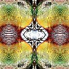 plastic colour swirls and swirls by H J Field