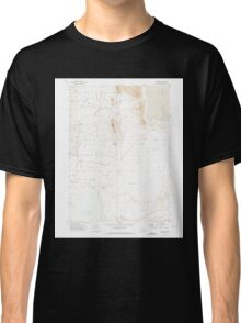 USGS Topo Map Oregon Andrews 278845 1971 24000 Classic T-Shirt