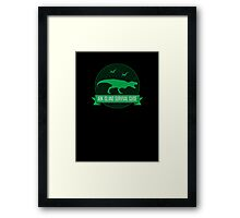 Ark - Survival Guide - Clean Framed Print