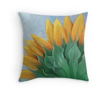 The Backside of the Sun Throw Pillow
