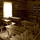 Old Time Classroom by Laura-Lise Wong