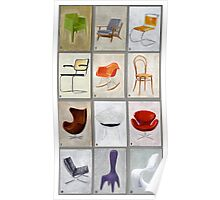 famous chairs Poster