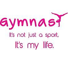 Gynastics, Sports, Gymnast Photographic Print