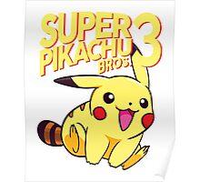 SUPER PIKACHU BROS. 3 Poster