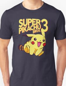 SUPER PIKACHU BROS. 3 T-Shirt