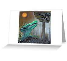 Swamp Life Greeting Card