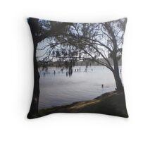 Narrabeen Lakes, Sydney Throw Pillow
