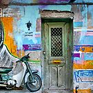 Athenian graffiti by Matt Mawson