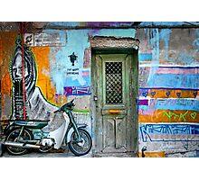 Athenian graffiti Photographic Print