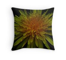 Yellow Magic Of The Solaris Throw Pillow