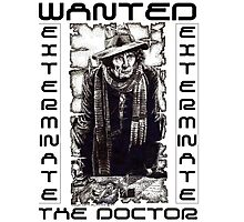 Wanted - The Doctor Photographic Print
