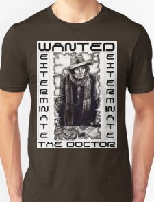 Wanted - The Doctor T-Shirt