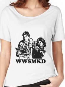 What Would Scarecrow and Mrs. King Do? Women's Relaxed Fit T-Shirt