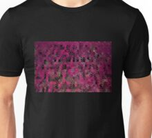 Pink Abstract Blocks Unisex T-Shirt