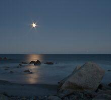 Heaven's Light On The Sea by Darlene Ruhs
