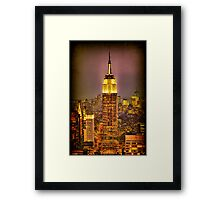 Empire Light, NYC Framed Print