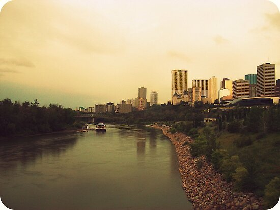 North Saskatchewan River by Laura-Lise Wong