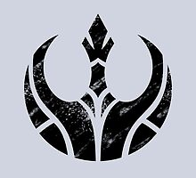 Rebels Segmented Logo (Black on Grey) by JoshBeck