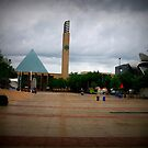 Churchill Square, Edmonton Alberta by Laura-Lise Wong