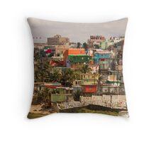 The City Of Old San Juan Throw Pillow