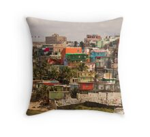 The City Of Old San Juan Throw Pillow