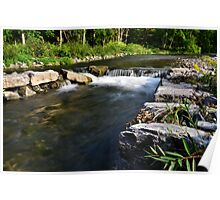 """"""" Ninemile Creek - Marcellus, NY """" Poster"""