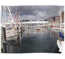 Wooden Boat Festival, Hobart Poster